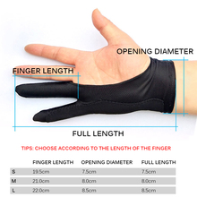 Anti-Touch-Glove Drawing-Tablet for Right And Left Screen-Board