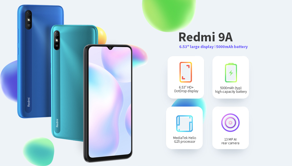 Redmi 9A 2+32GB Smartphone