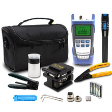 цена на Portable FTTH Fiber Optic Toolkit for Installing Fast Connector and Fiber Optic Drop Cable