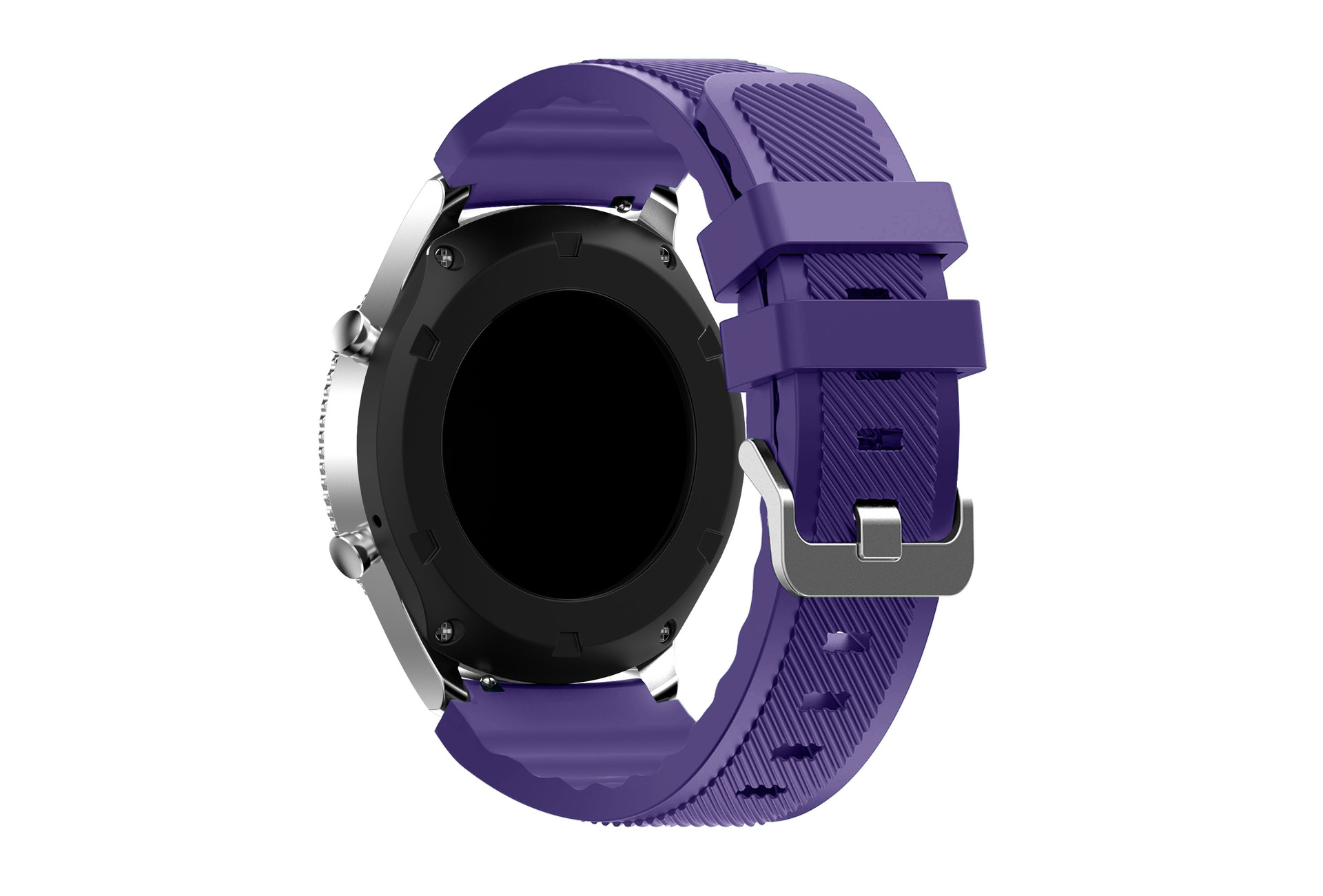 22MMS3 Silicone Watch Strap Samsung Gear S3 Silica Gel Fingerprint Breathing Watch Strap S3 Sports Watch Strap