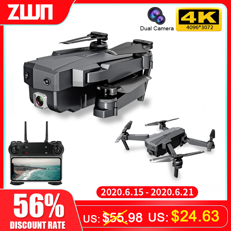 ZWN SG107 Mini Drone with 4K WIFI FPV HD Dual Camera Quadcopter Optical Flow  Rc Dron Gesture Control Kids Toy  VS E58 E68 SG106|RC Helicopters|   - AliExpress