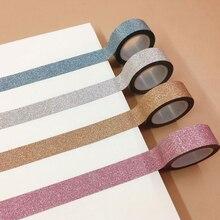 1.5CM Wide  Washi Tape Adhesive Tape DIY Scrapbooking Sticker Label Masking Tape Student Stationery Gift