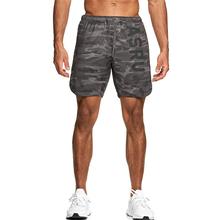 Kamuflaż męskie szorty do biegania spodenki treningowe trening kulturystyka siłownia sport mężczyźni odzież męskie spodenki treningowe Fitness Jogging tanie tanio Zroadlop K-39 Poliester Elastyczny pas REGULAR Fałszywe zamki