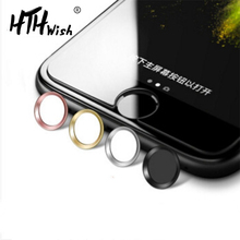 for iphone stickers Touch id Home Button Sticker Protector IPhone 5s 5 SE 6 6s 6PLUS 7 8 Plus Support Unlock Touch Phone Sticker red redpepper waterproof case for iphone 5 5s support touch id function