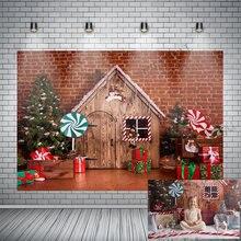 Фон для фотосъемки в стиле Рождества Фоны Семья портретный Фотофон