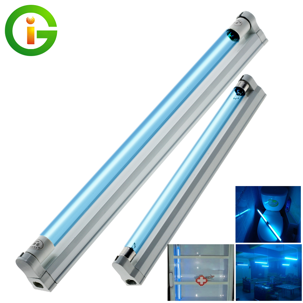 8W 15W Germicidal Light T5 Tube UVC Sterilizer Kill Dust Mite Eliminator UV Quartz Lamp Ozone Sterilizer For Bedroom /Hospital