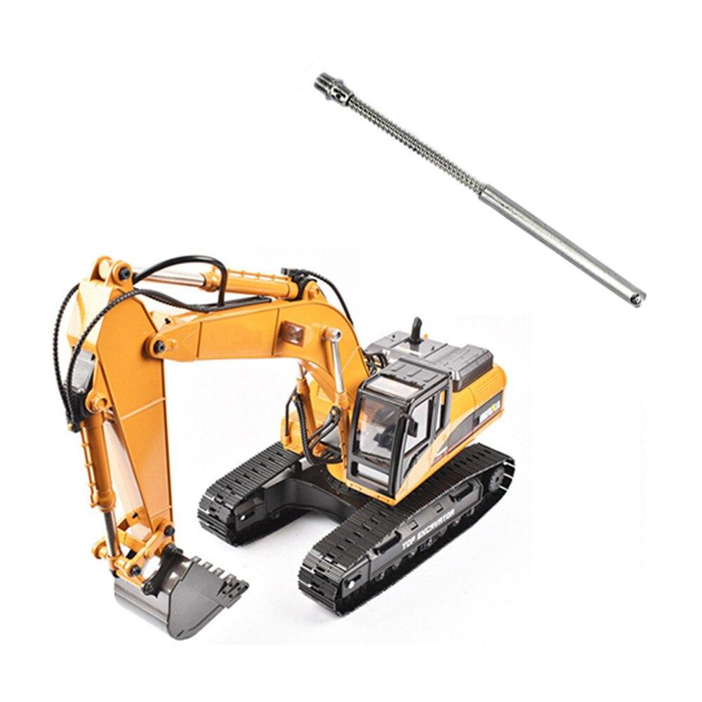 For Huina 580 1580 V2 V3 1/14 RC Excavator Bucket Long Screw Set / Arm Long Screw Set Spare Parts