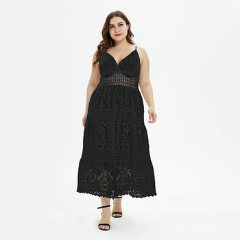 Sexy Short Lace Cocktail Dresses Plus Size A-Line V-Neck Spaghetti Straps Hollow Out Evening Party Gowns Vestidos De Coctel