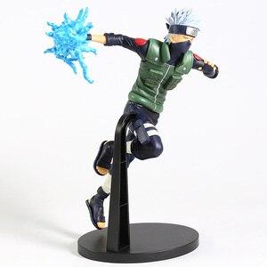 Image 3 - Naruto Shippuden Vibration Stars Hatake Kakashi Lightning Cutter Ver. Figura de PVC, figura coleccionable, modelo de juguete