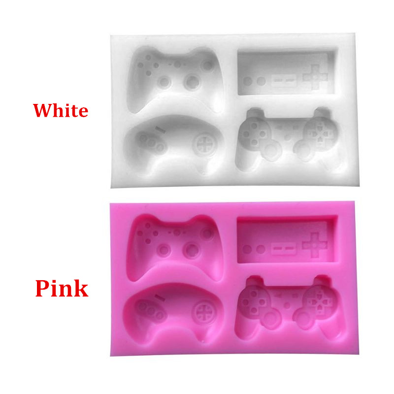4-Styles Game Consoles Handle Pendant Silicone Epoxy Resin Mold Jewelry Making Tools