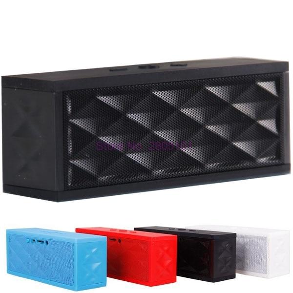 Durch DHL oder EMS 20 stück Jambox stil tragbare hohe qualität mini bluetooth Lautsprecher stereo-freisprecheinrichtung
