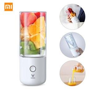 XIAOMI MIJIA VIOMI Blender Electric juicer portable mini blender kitchen food processor charging using 45 seconds quick Juicing