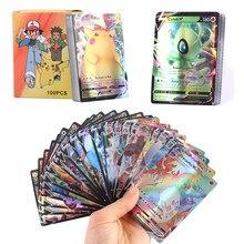 Carte Pokemon 2020 V 20EX 20MEGA 120GX, étiquette équipe V Vmax série EX Mega, Version française et anglaise, nouvel arrivage, 140