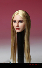1/6 Scale Avril Head Sculpt Head Models European Womens Girl  for 12 Inches Figures Bodies Dolls 1 6 scale kt005 female head sculpt long hair model toys for 12 inches women bodies figures