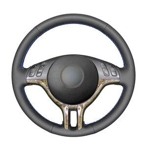 Image 1 - Tay Đeo Đen Da Nhân Tạo PU Bọc Vô Lăng cho XE BMW E46 318i 325i 330ci E39 X5 E53 Z3 e36/7 E36/8(Coupe)