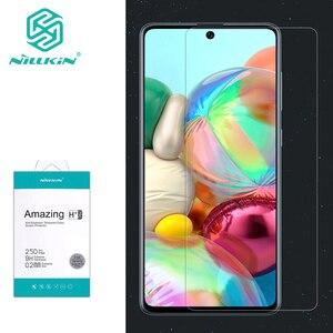 Image 1 - עבור סמסונג גלקסי A71 זכוכית Nillkin מדהים H/H + פרו מסך מגן מזג זכוכית עבור Samsung Galaxy A51 a71