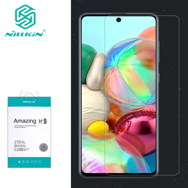 עבור סמסונג גלקסי A71 זכוכית Nillkin מדהים H/H + פרו מסך מגן מזג זכוכית עבור Samsung Galaxy A51 a71