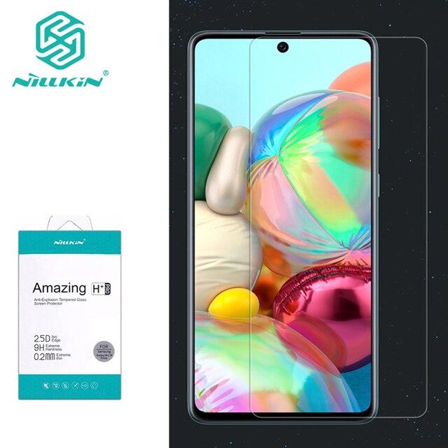 Para Samsung Galaxy A71 de Nillkin increíble H/H + PRO Protector de pantalla de vidrio templado para Samsung Galaxy A51 A71