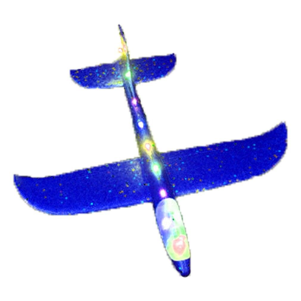48 см большой ручной бросок самолет Летающий планер из пеноматериала самолет инерционный самолет игрушка ручной запуск мини-самолет уличны...