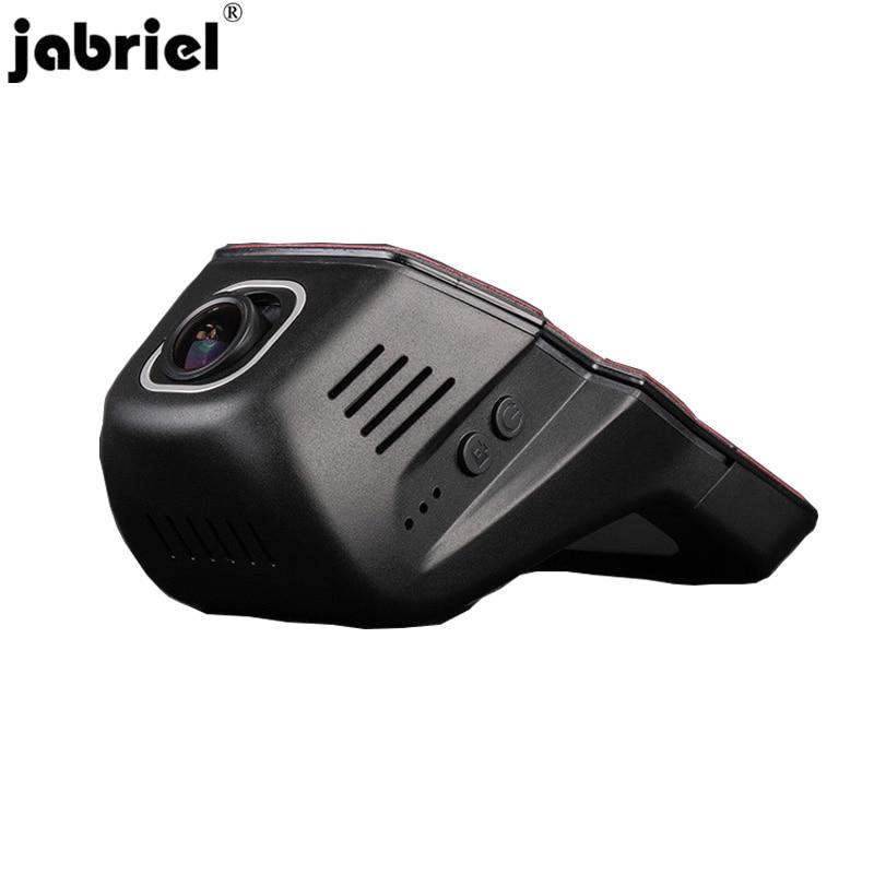 Jabriel 24 godziny samochód kamery 1080P samochód dvr dash rejestrator wideo dla Volkswagen polo vw golf 4 5 7 mk3 mk4 passat tiguan touareg