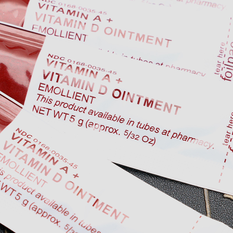 100PCS Vitamin A&D Ointment Is Used For Tattoo Care, Skin Repair, Body Art Repair, Permanent Skin Cosmetic Tools