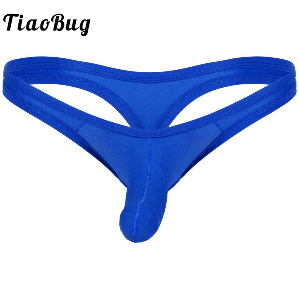 Satin Sissy mens panties Shiny GO TEENS Titans character Print string bikini