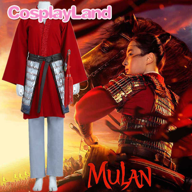 2020 Mulan Costume Princess Halloween Adult Women Cosplay Superhero Red Mulan Battle Outfit Fancy Ancient Suit Aliexpress
