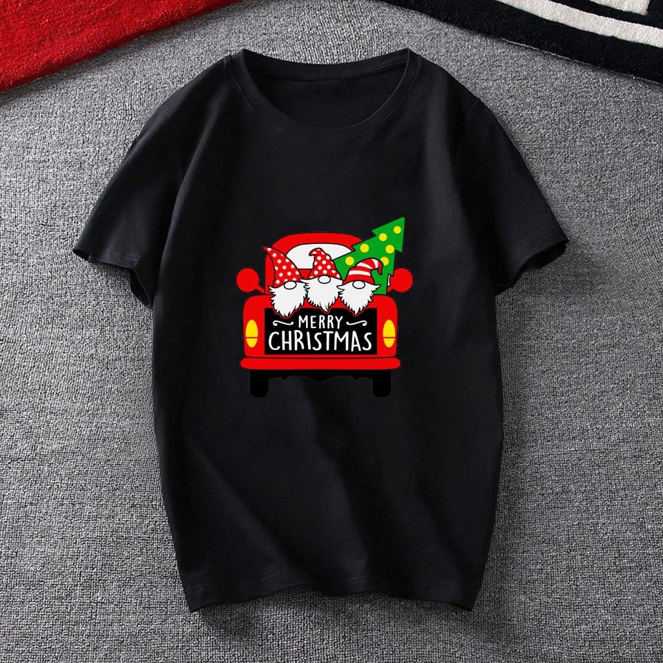 Женские футболки с рисунком веселого Рождества забавные Модные