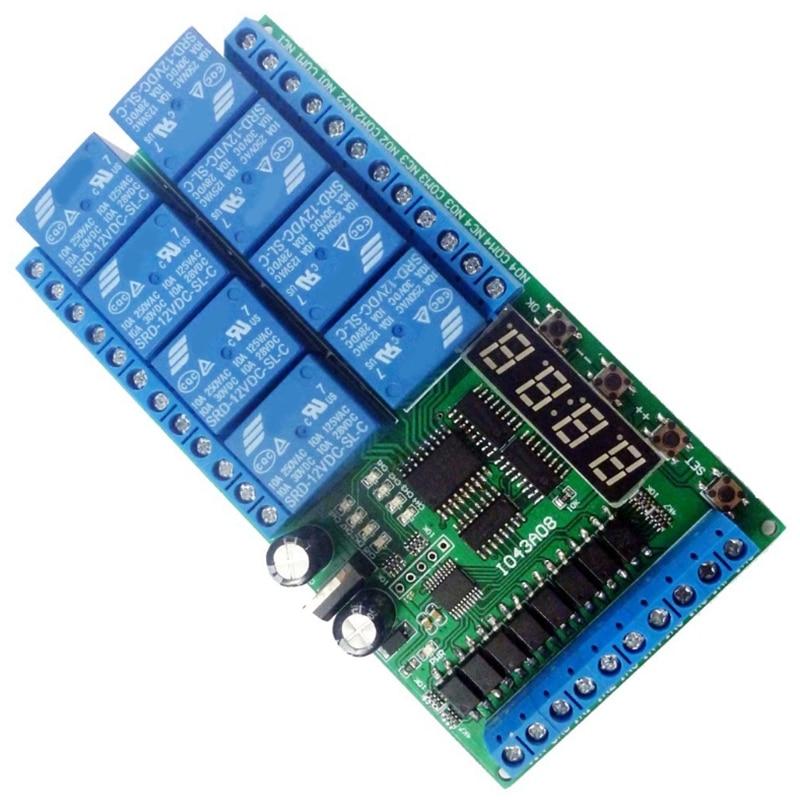 m/ódulo de control de rel/é de interruptor biestable de circuito biestable de un solo canal de 12 V CC Rel/é de interruptor de disparo