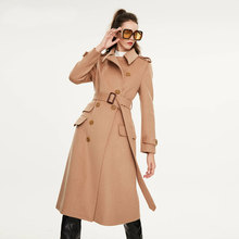 Woolen Coat Ol-Jackets Streetwear Classic Elegant Winter Fashion Thick Long