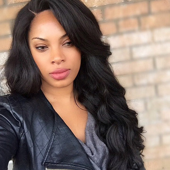 13x6 Fake Scalp Wig Deep Part Body Wave Lace Front Human Hair Wigs Natural Color Invisible Remy PrePlucked Bleached Knots