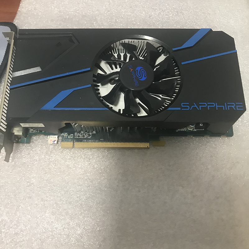 SAPPHIRE Radeon HD 7770 1GB Graphics Cards GPU For AMD HD7770 1G GDDR5 Video Cards PC Computer Gaming HDMI PCI-E X16 Used 3