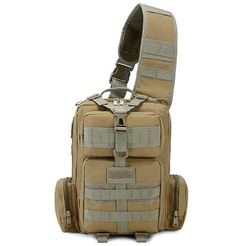 ombro ao ar livre militar mochila de acampamento viagem caminhadas trekking saco 10