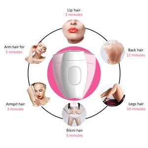 Image 2 - เครื่องกำจัดขนIpl 600000แฟลชถาวรProfessionalเลเซอร์กำจัดขนไฟฟ้าPhotoผู้หญิงไม่เจ็บปวดThreading Hair Removerเครื่อง