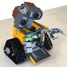 Technic Robot Wall E Blocks Bricks Fit Creator Ideas 21303 Movie Building Set Playmobil Model Kids Toys For Children Gifts