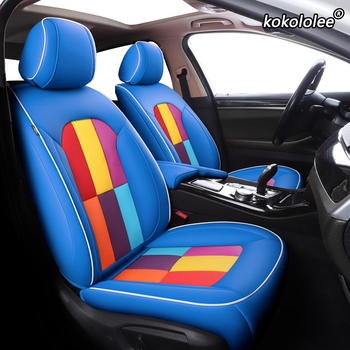 kokololee Custom Leather car seat cover For LAND ROVER Discovery Freelander Range Rover Evoque Range Rover sport seat cover cars