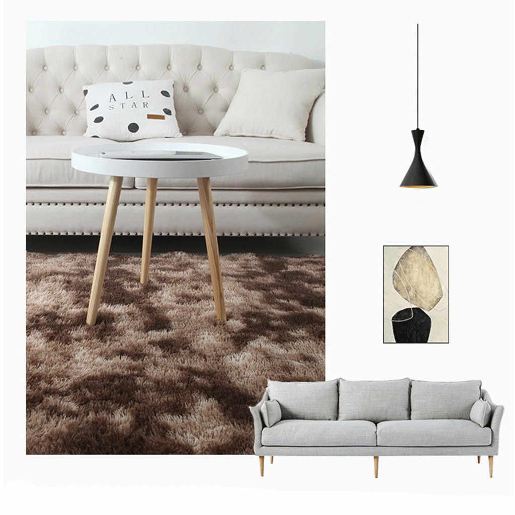 Ковер для гостиной, спальни, Ультра мягкий современный ковер, мохнатые коврики, ковер для детской комнаты, домашний плюшевый ковер, домашний декор, современный ковер