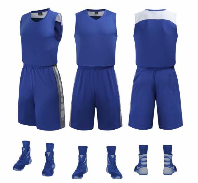 Uniformes de Basquete Camisa sem Mangas Treinamento da Equipe Homens Basketball Jerseys Barato Meninos – Meninas Conjuntos Quick Dry Esporte Personalizado