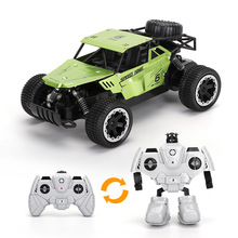 1:18 Electric RC Car Rock Crawler Remote Control Toy Cars On The Radio Controlled Off-Road Trucks Toy For Children Birthday Gift huanqi rc tank toy crawler simulation two infrared radio remote control twin battle tank set rc cars for children boy gift