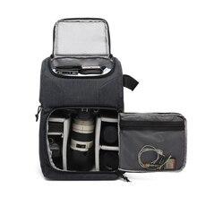 Водонепроницаемая сумка для камеры, рюкзак для фотосъемки, для Polaroid Canon Nikon Sony DSLR Shoot Camera s, портативный дорожный Чехол, сумки