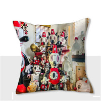 Gary Baseman Toby Cartoon Short Plush Pillow Living Room Sofa Down Cushion Office Nap Pillow Stuffed Toy X2439