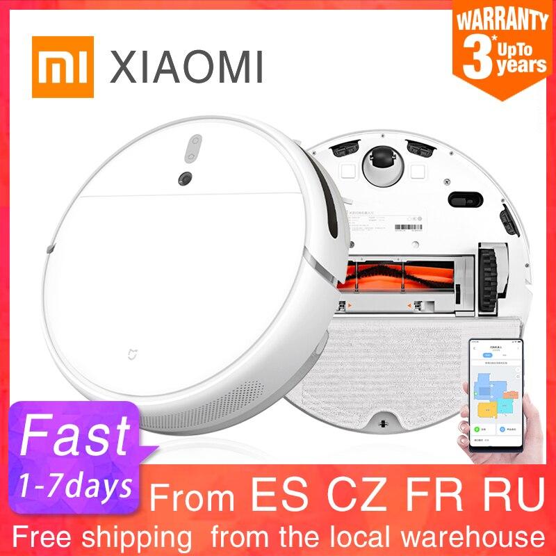Xiaomi mijia mi varrendo esfregar robô aspirador de pó 1c para casa auto poeira esterilizar 2500 pa ciclone sucção inteligente planejado wi fi