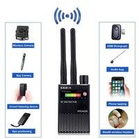 RF 신호 탐지기  숨겨진 장치 탐지기 전체 범위 무선 안티 스파이 버그 탐지기 GSM GPS 추적기 장치 파인더 감지기