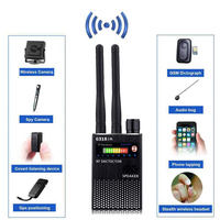 RF Signal Detector, Hidden Device Detector Full Range Wireless Anti Spy Bug Detector GSM GPS Tracker Device Finder Detector