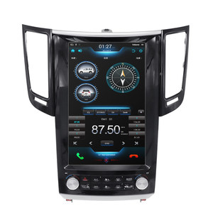 Image 2 - Tesla Style Android 9.0 Car GPS Navigation Player for Infiniti FX FX25 FX35 FX37 qx70 radio tape recorder head unit multimedia
