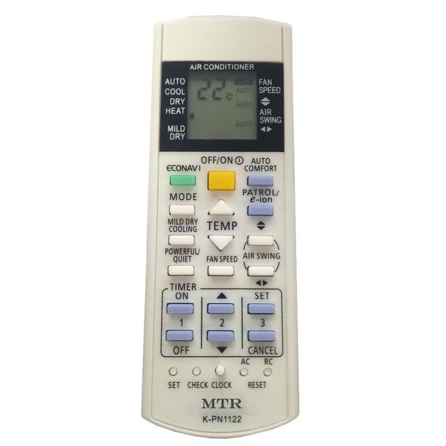 Télécommande universelle à K PN1122 pour tous les climatiseurs PANASONIC nationaux Fernbedienung