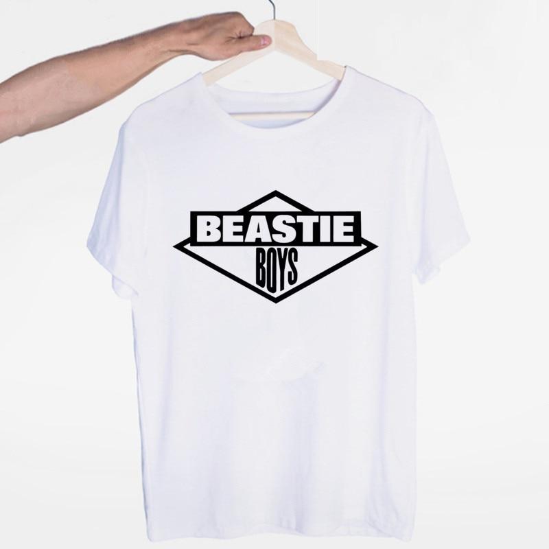 Men's Beastie Boys Hip Hop Music T Shirt Hipster T-shirt O-Neck Short Sleeves Summer Casual Fashion Unisex Men And Women Tshirt