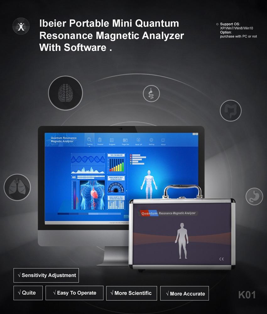 ibeier analyzer :analizer quantum resonance magnetic
