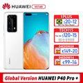 Глобальная версия Huawei P40 Pro 5G смартфон 6,58 дюймов Kirin 990 Octa Core Android 10 SA/НСА в Wi-Fi жест датчик 40W
