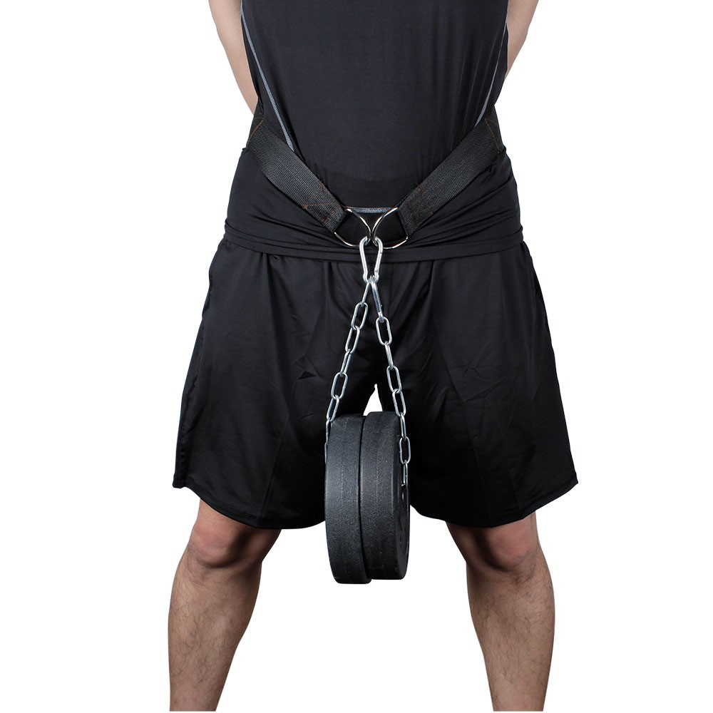 New Weight Lifting Chain Belt Dipping Belt Pull Up Chin Up Kettlebell Barbell Fitness Bodybuilding Gym Belt Power Exercise